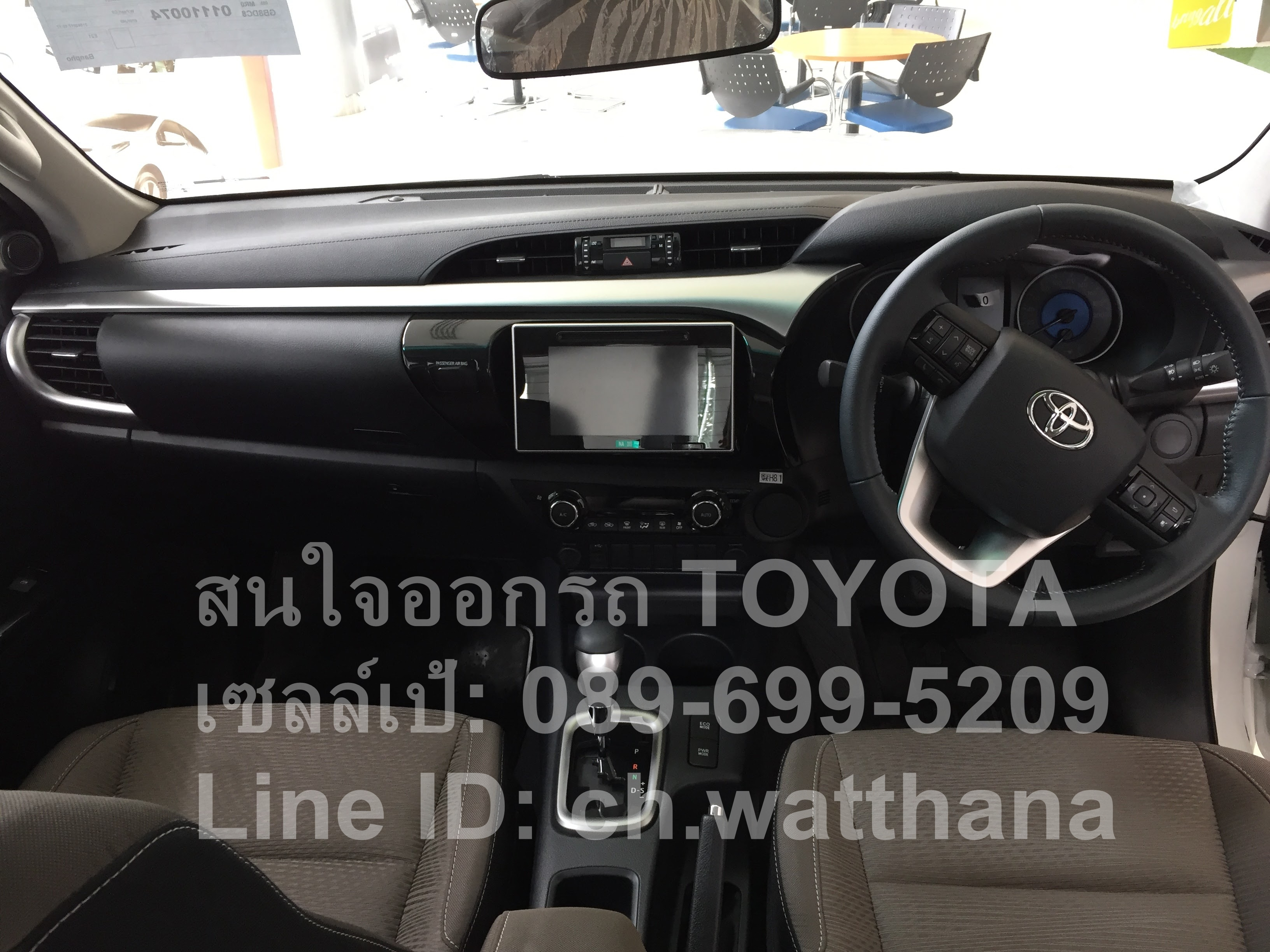 Revo 2.4G AT แคบ-ยกสูง Smart Cab Pre-runner-โปรโมชั่น-ภายนอก-ภายใน (2)