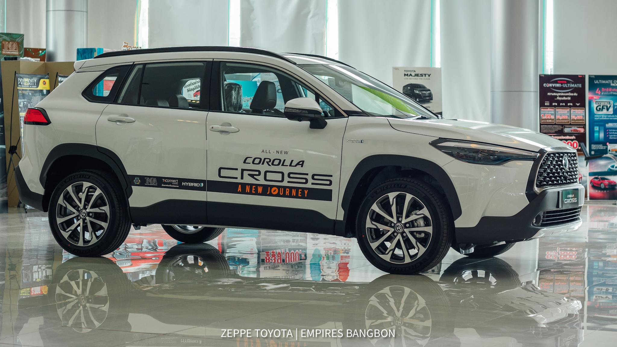 corolla cross-โคโรลล่า ครอส-รูปรถตัวจริง