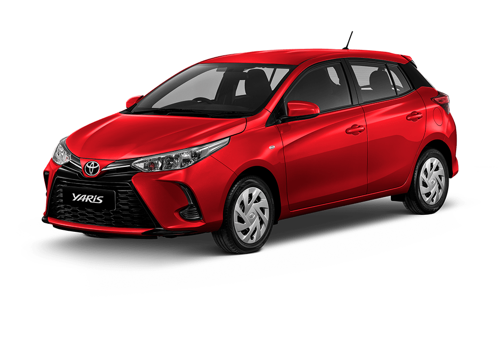 yaris color red