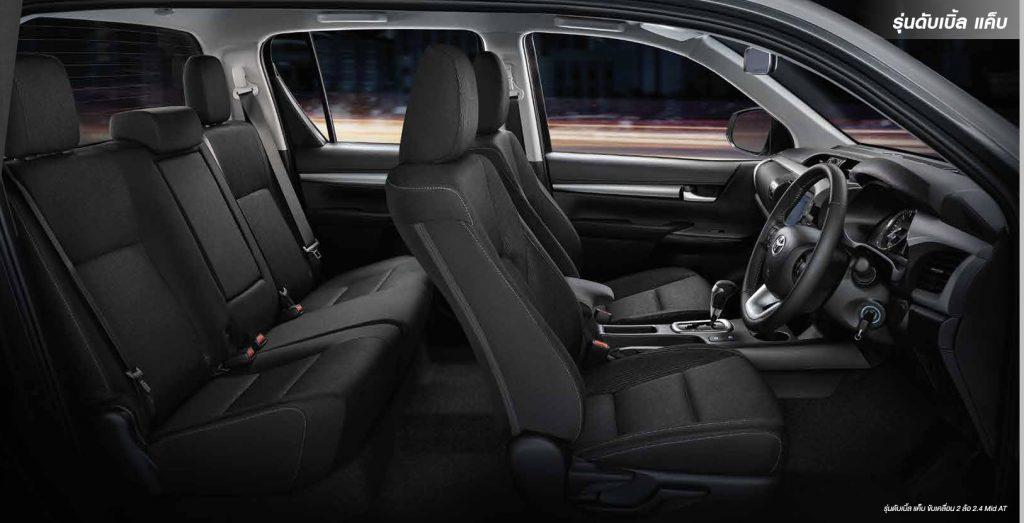 ภายใน-interior-toyota revo double cab z edition-โตโยต้า รีโว่ 4 ประตูเตี้ย แซดอิดิชั่น