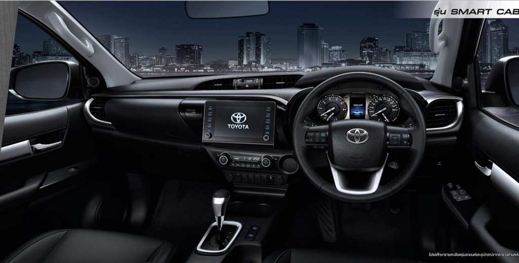 ภายใน-interior-toyota revo smart cab prerunner-โตโยต้า รีโว่ สมาร์ทแค็บยกสูง 2 ประตู พรีรันเนอร์ ตอนครึ่ง
