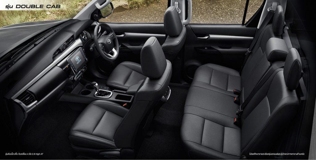 ภายใน-interior-toyota revo double cab prerunner-โตโยต้า รีโว่ 4 ประตูยกสูง
