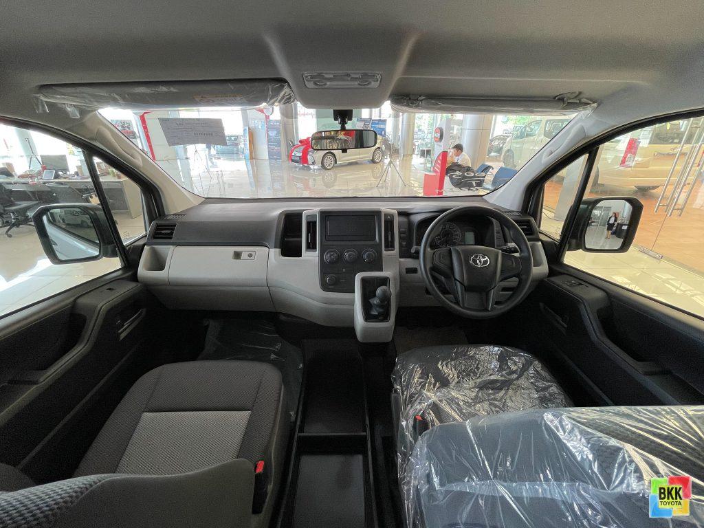 ภายใน-interior-toyota hiace van-รถตู้โตโยต้า ไฮเอซ