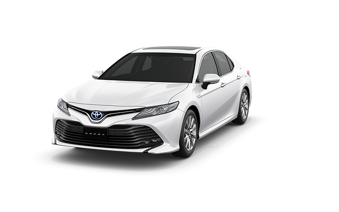toyota camry platinum white pearl color