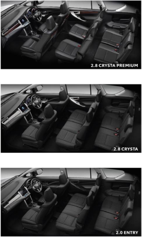 ภายใน-interior-toyota Innova Crysta-รถยนต์โตโยต้า อินโนว่า คริสต้า