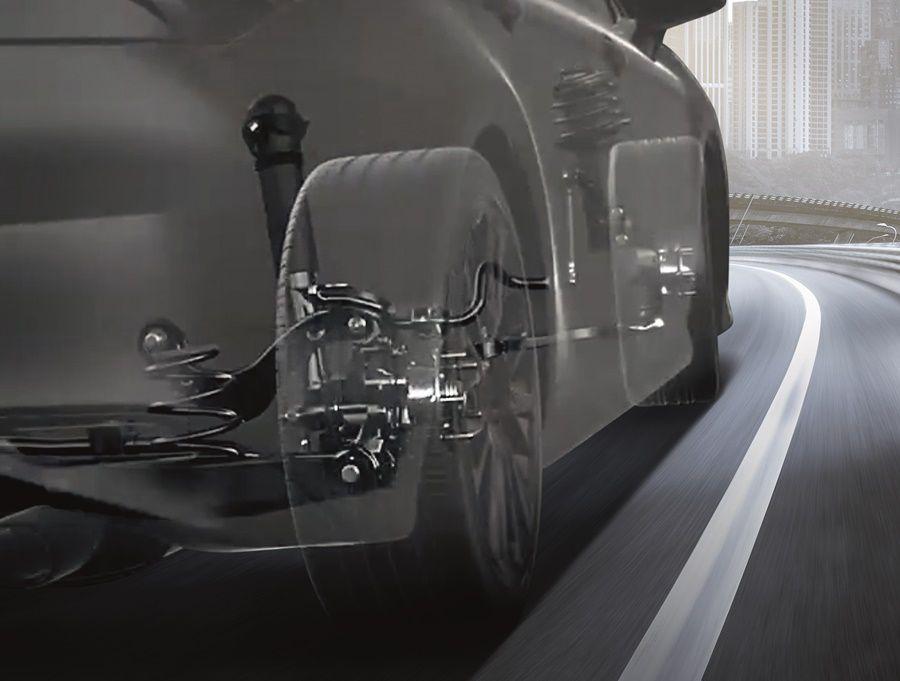ระบบช่วงล่าง-suspension-toyota camry-รถยนต์โตโยต้า คัมรี่