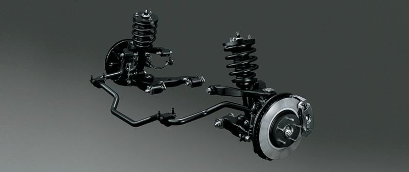 ระบบช่วงล่าง-suspension-toyota Innova Crysta-รถยนต์โตโยต้า อินโนว่า คริสต้า