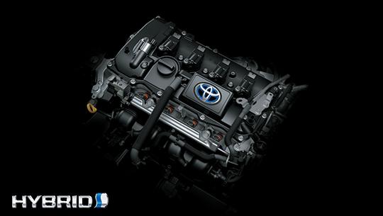 เครื่องยนต์-engine-toyota c hr-รถยนต์โตโยต้า ซีเอชอาร์