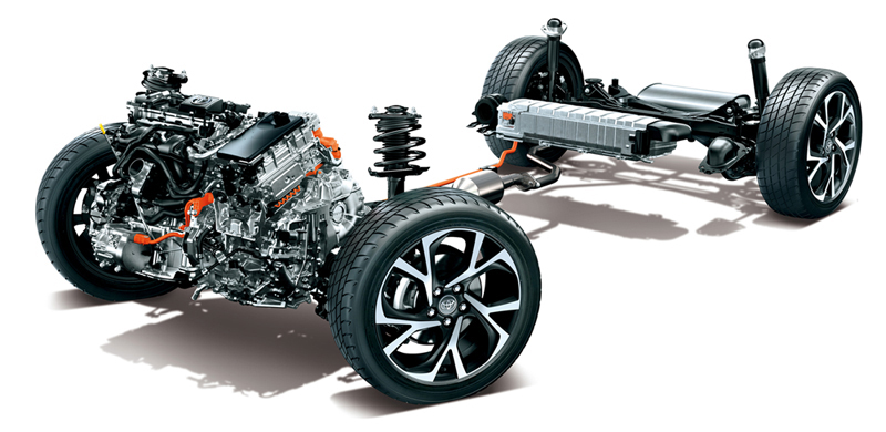 ระบบช่วงล่าง-suspension-toyota corolla cross-รถยนต์โตโยต้า โคโรลล่า ครอส