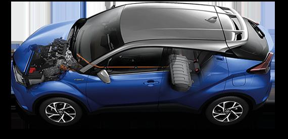 เครื่องยนต์-engine-toyota chr-รถยนต์โตโยต้า ซีเอชอาร์