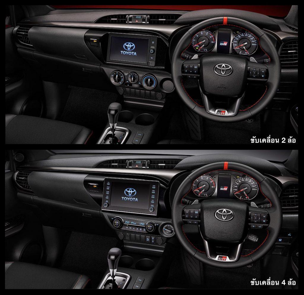 ภายใน-interior-toyota hilux revo gr sport-รถยนต์โตโยต้า ไฮลักซ์ รีโว่ จีอาร์ สปอร์ต